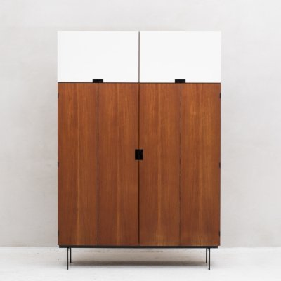 KU15 Japanese series wardrobe by Cees Braakman for Pastoe, 1960's