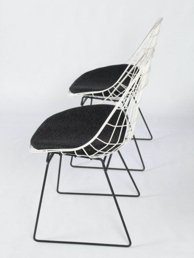 SM05 Wire chairs by Cees Braakman for Pastoe, 1960s