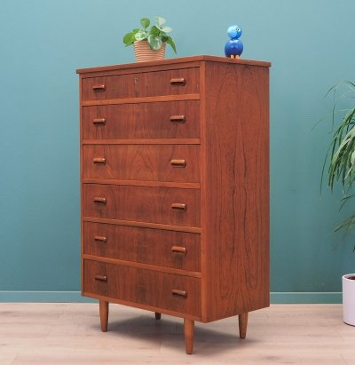 Teak chest of drawers, Denmark 1970s