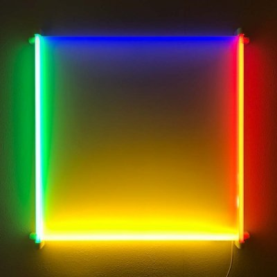 Outline light object by Aldo van den Nieuwelaar, 1985