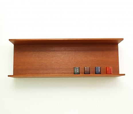 Teak shelf by Walter Wirz, Germany 1960s