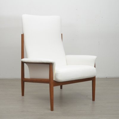 Danish Armchair by Grete Jalk, 1960s