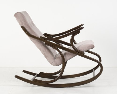 Bentwood rocking chair from TON, 1960's