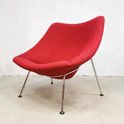 Dutch design 'Oyster' F157 easy chair by Pierre Paulin for Artifort, 1980s