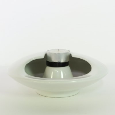 Ceramic UFO candle holder by Sicart, 1970s