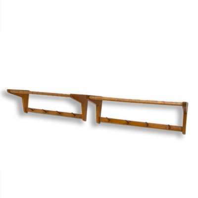 Pair of mid century wall shelves by Krásná Jizba, Czechoslovakia, 1960