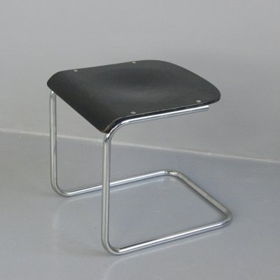 Bauhaus H22 Stool by Mart Stam for Mauser, Circa 1920s
