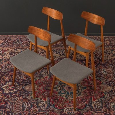 Set of 4 Dining chairs by Habeo, Germany 1950s