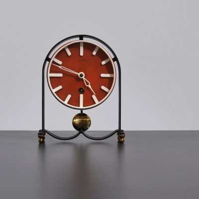 1950s table clock by Orfac Holland