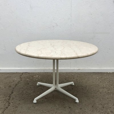 Charles & Ray Eames side table on La Fonda base, 1960s
