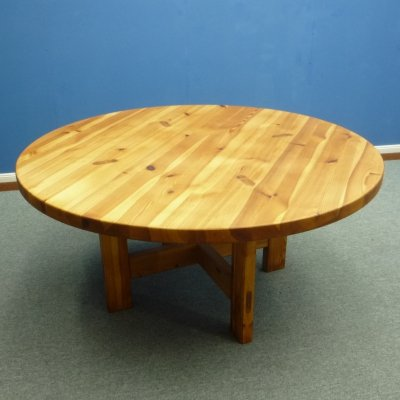 Pine Wood Dining Table by Ronald Wilhelmsson for Karl Andersson & Söner, 1960s