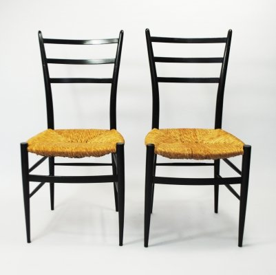 2 x Spinetto dining chair by Chiavari, 1950s