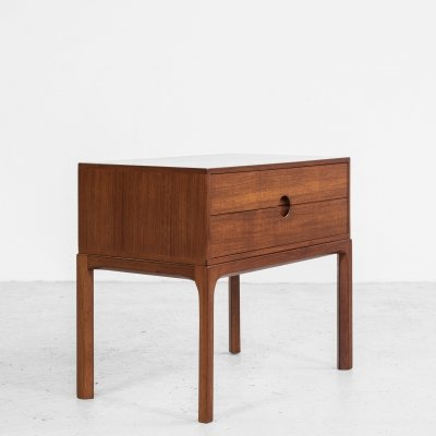 Midcentury Danish chest of 2 drawers in teak by Aksel Kjersgaard, 1960s