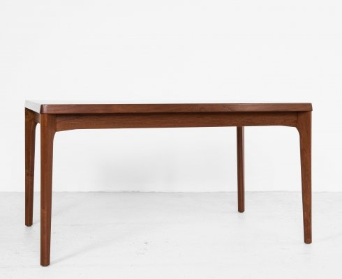 Midcentury Danish extendable dining table by Henning Kjaernulf for Vejle, 1960s