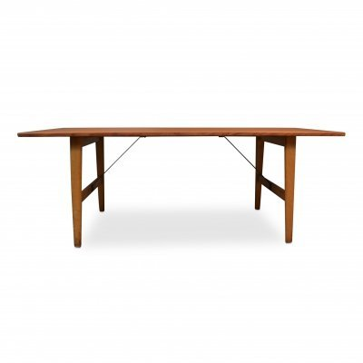 Vintage Danish design Model 281 Børge Mogensen teak/oak lounge table, 1950s