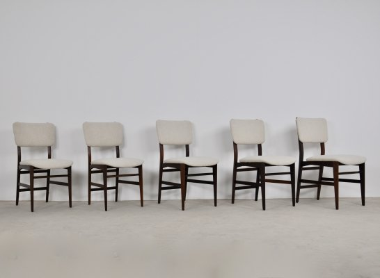 Set of 5 Dassi Dining Chairs, 1950s