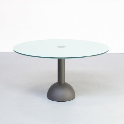 80s Massimo & Lella Vignelli 'Calice' dining table for Poltrona Frau