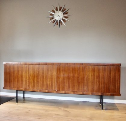 Vintage mid century sideboard in rosewood by Guermonprez for Magnani, circa 1957