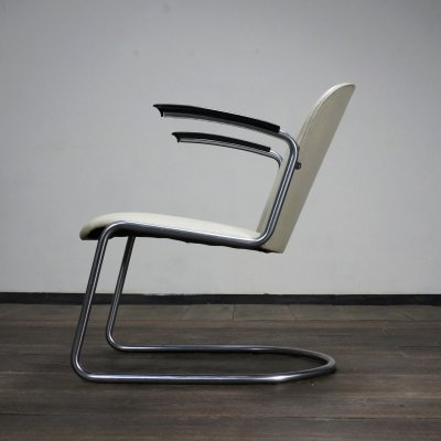 Model 413 Gispen arm chair from the early 50's