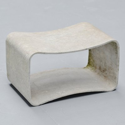 Willy Guhl loop stool by Eternit AG, Switzerland 1954