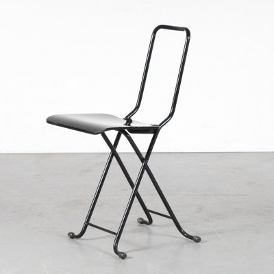 1970s Folding chair by Gastone Rinaldi for Thema, Italy