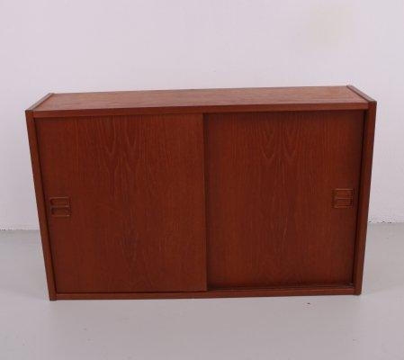 Wall cabinet with sliding doors, 1960s