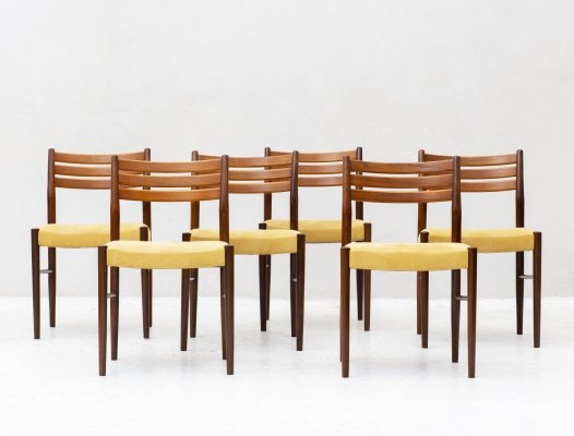Set of 6 dining chairs, Denmark 1960's