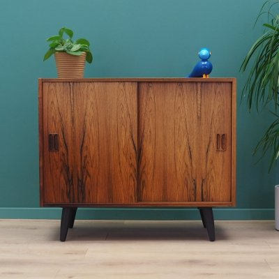 Rosewood cabinet by Emil Clausen, Denmark 1970s