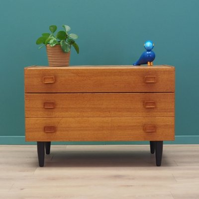 Teak chest of drawers by Denka, Denmark 1980s