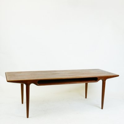 Danish Teak Coffee Table Mod. 240 by Johannes Andersen for CFC Silkeborg