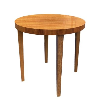 Mid Century Modern Coffee table with a round top, Germany 1960s
