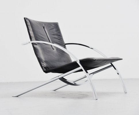 Paul Tuttle Arco lounge chair by Strassle Switzerland, 1976