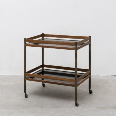 'Filiberto' bar cart by Virginia Galimberti Scoccimarro for Adrasteia, 1950s