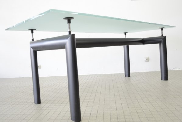 Cassina Lc6 dining table by Le Corbusier, Perriand & Jeanneret, 1990s