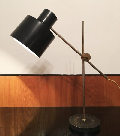 Industrial Office Lamp by Jan Suchan for Elektrosvit, 1967