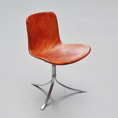 Poul Kjaerholm PK9 chair by E Kold Christensen, Denmark 1961