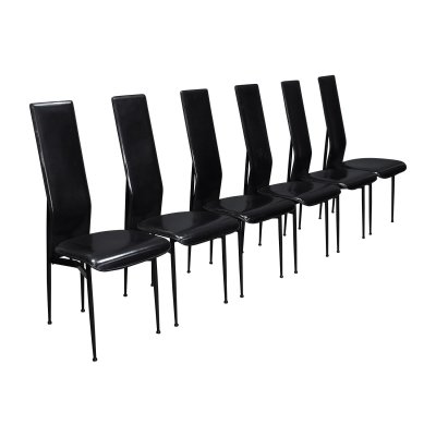 Set of 6 Fasem chairs by Vegni & Gualtierotti, Italy circa 1980