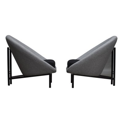 Pair of F115 lounge chairs by Theo Ruth for Artifort, Netherlands 1958