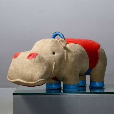 Renate Muller therapeutic toy, Hippo 'Mocky'