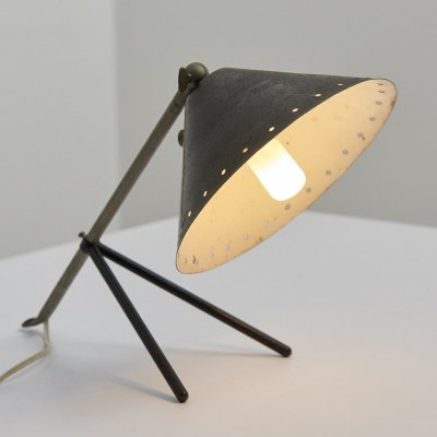 'Pinocchio' Table Lamp by Herman Busquet for Hala Zeist, Netherlands 1950's
