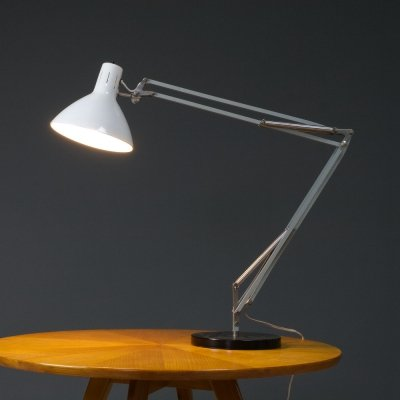 Desk or table Light in white by Hala, 1967