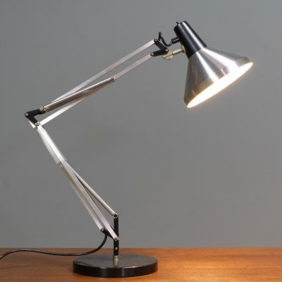 Hala Desk light model T9 in aluminium, 1967