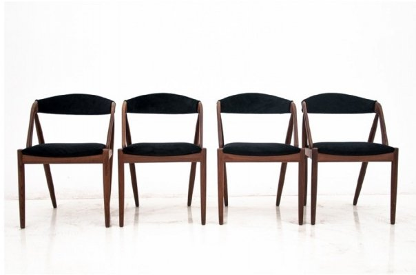 Set of 4 model 31 Dining chairs by Kai Kristiansen, Denmark 1960s