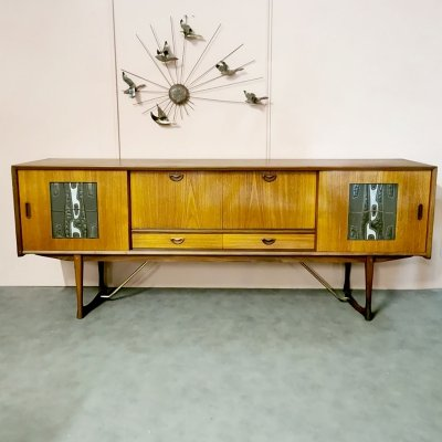 Midcentury design sideboard by Louis van Teeffelen & Ravelli for Webe