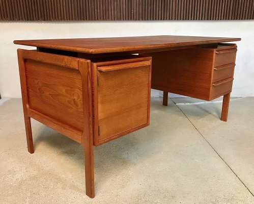 Danish Modernist Teak Desk by Gasvig GV Møbler, 1960s