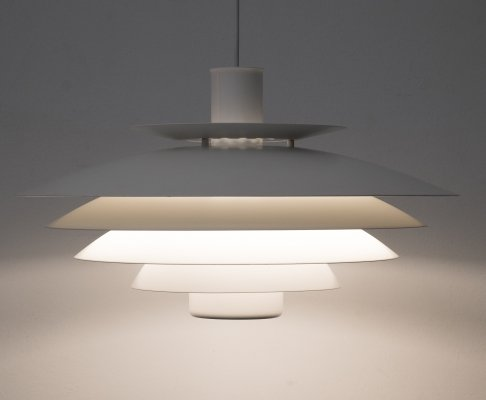 Suspension lamp model 52610 by Form Light, Denmark 1980s