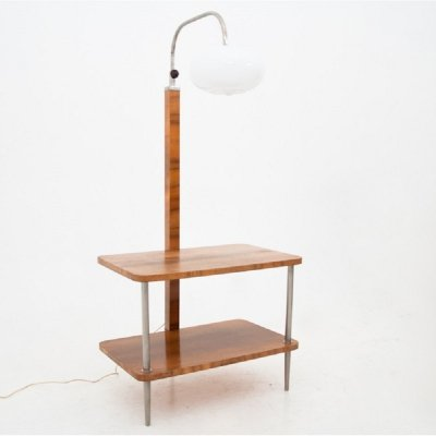 Floor lamp with a table, 1940s