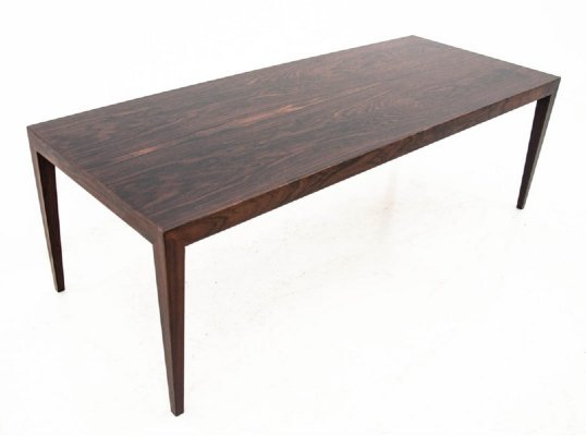 Vintage Rosewood table, Northern Europe 1960s