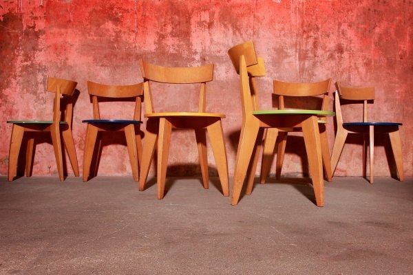 Rare Carugo Chairs by James Irvine for Cappellini, 1993