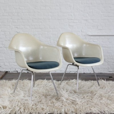 Pair of DAX armchairs by Ray & Charles Eames for Herman Miller, '60